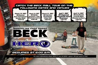 Hero TV: Beck Mall Tour