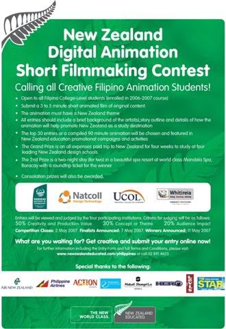 NZ Filmmaking Contest