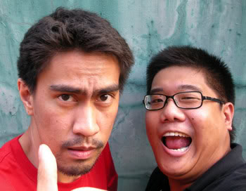 Greenpinoy and Ramon Bautista