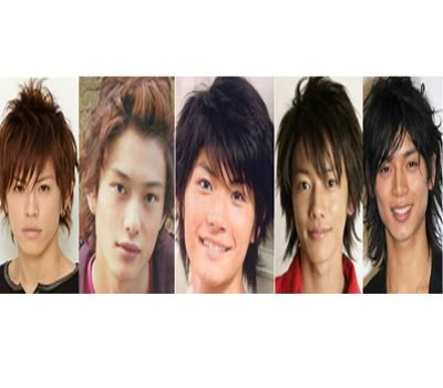 Oricon 2008 Upcoming Male Stars