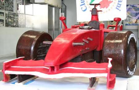 Chocolate Ferrari F1 F2008