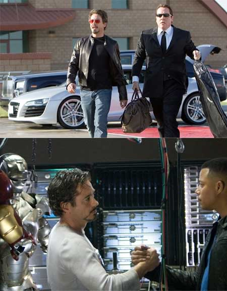 Audi and Dell in Iron Man