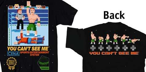 WWE John Cena t-shirt