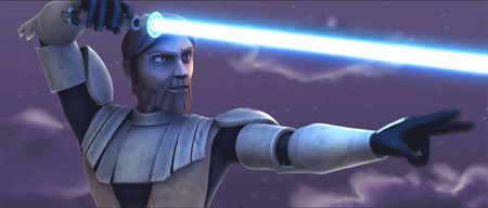 Obi Wan in New Animate Star Wars