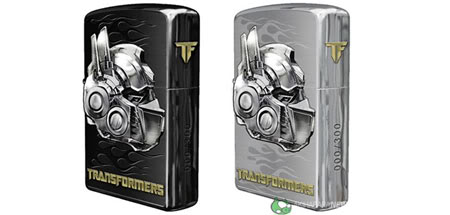 Transformer Zippo Lighters