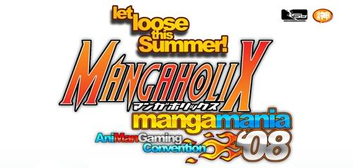Mangaholix Manga Mania 2008: Let loose this summer!