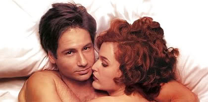Fox Mulder and Dana Scully X-Files Rolling Stone Cover