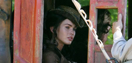 Megan Fox in Jonah Hex Set