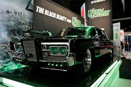 Black Beauty Green Hornet Car Comic Con