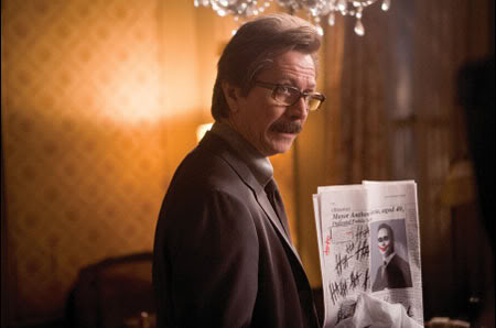Gary Oldman Comissioner Gordon Batman The Dark Knight