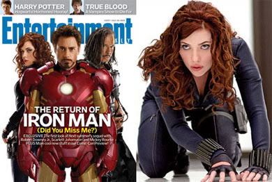 Iron Man 2 Cast on Entertainment Weekly