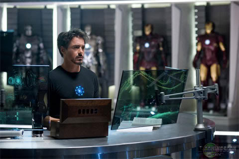 Iron Man Set Pictures