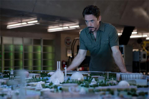 Iron Man 2 Set Pictres
