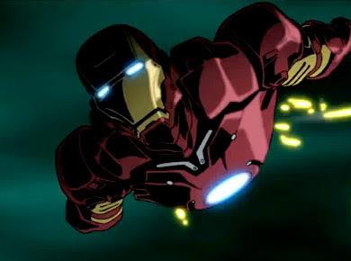 Iron Man anime screenshot