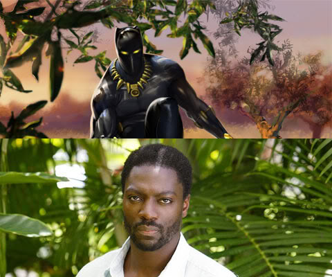 Adewale Akinnuoye-Agbaje as the Black Panther