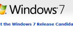 Windows 7 RC 1 out now