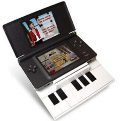Nintendo DS gets a piano